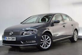 VOLKSWAGEN PASSAT 1.6 EXECUTIVE TDI BLUEMOTION TECHNOLOGY 4d 104 BHP (grey) 2014