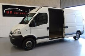 VAUXHALL MOVANO 3500 CDTI LWB HIGH ROOF PANEL VAN ** 100% HPI CLEAR ** 2 OWNERS ** FAMILY VAN
