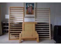 Alex cotbed/toddler bed (John Lewis)