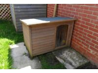 Wooden Dog kennel - Never Used