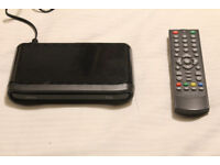 Freeview TV set-top box receiver. Dion.