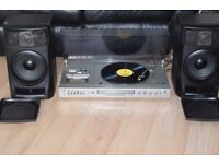 PANASONIC RECORD PLAYER/CASSETTE/FM STEREO RADIO/JAPAN CAN SEE WIRKING