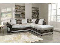 CRUSH VELVET/ MAX DIAMOND CORNER SOFA/UNIT