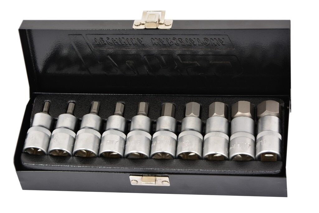"Steckschlüssel Inbus 1/2"" Steckschlüsselsatz Sechskanten Werkzeug Imbusschlüssel"
