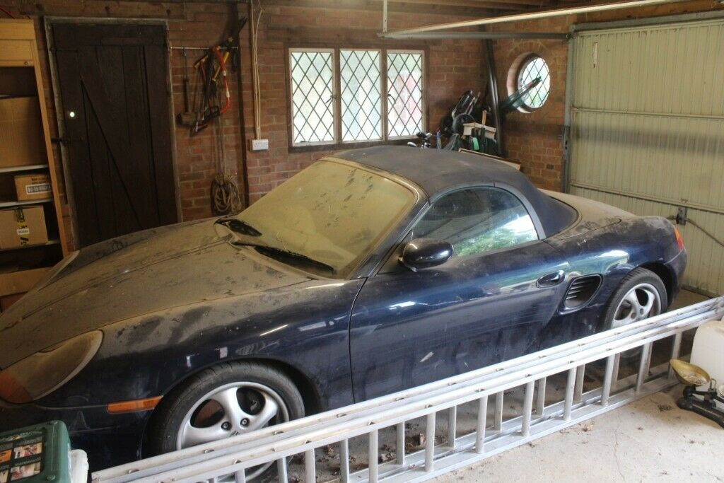 SPARES OR REPAIRS - 1999 Porsche Boxster totally sound multiple unused  parts garage stored from 2017 | in Mayfield, East Sussex | Gumtree