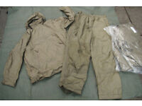 Brand NEW - British Army Issue Cold Weather PCS Thermal Suit, Size Small