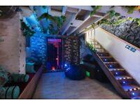 **unique cafe/retail shop with cosy basement space for rent!**