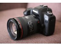 Canon 5D with 24-105mm lens and 32GB Card - £1100