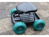 Seat on Wheels for Gardening - New