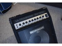 Behringer BX1200 Ultrabass 120W, amp in great condition.