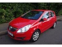 57 Plate Vauxhall Corsa 1.3 Diesel CDTI, AUX, CLUB, 1 OWNER, £30 TAX, HPI CLEAR