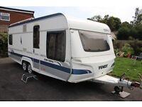 Fendt 590 TFS Topas 2008 4 Berth Fixed Bed Twin Axle Caravan