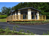 Holiday Lodge for sale including decking, Conwy, North Wales, £99,000 OVNO.