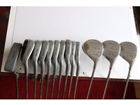Ronan Rafferty Full Set of Golf Clubs In Excellent Condition 3-SW, 3&5 Woood, Driver & Putter
