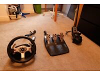Logitech G25 Steering Wheel - PC and PS3/PS4