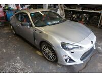 BREAKING FOR PARTS: TOYOTA GT 86 D-4S 2.0 PETROL 6 SPEED MANUAL 2015 201BHP