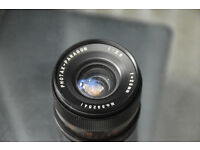 Photax Paragon 28mm 2.8 M42 mount lens with Canon EF adapter