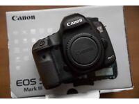 Canon 5D Mark lll DSLR EOS Camera - Very good condition Condition