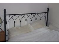 Wrought Iron Double Bed.