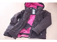 Ski Jackets, trousers, mittens,fleeces, socks and various other ski items for girl