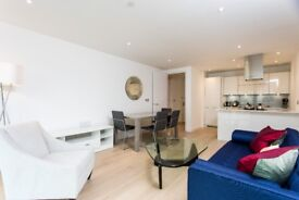 ** AMAZING LUXURY 2 BED 2 BATH WITH BALCONY AND GYM IN CANARY WHARF, E14, CALL NOW - AW