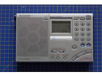 Sony SW7600GR Shortwave Receiver LW / MW / SW / FM / SSB / LSB / USB
