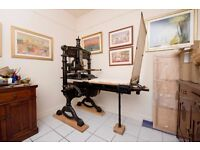 Improved Albion Press - Antique Printing Press / Large
