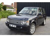 LEFT HAND DRIVE RANGE ROVER, DRIVES SUPERBLY, ENGINE AND BODY IN VERY GOOD CONDITION, PAPERS SORTED.