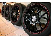 "17"" inch Team dynamics Imola 5x112 for Volkswagen golf passat Seat Leon Audi A3 A4 Astra J Mercedes"
