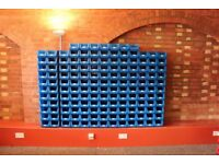 150 x Warehouse Storage Picking Bins Part Containers Plastic
