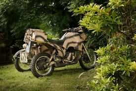 Military Style Bike with Side Car