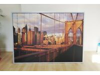 Brooklyn Bridge Manhattan New York Large Picture Photo Print