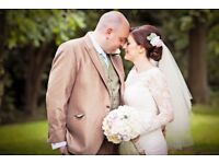 Affordable wedding photographer from £300