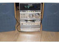 AIWA MINI DISC/MD/CD/RADIO AUX IN CAN BE SEEN WORKING