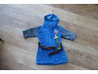 Mike the Knight Belted Dressing Gown (M&S) – 2-3 yrs