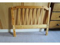 Ikea pine single bed