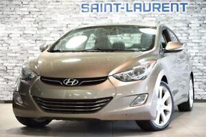 2013 Hyundai Elantra CAM/TOIT LIMITED*CUIR*GPS