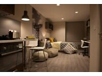 STUDENT ROOM TO RENT IN GLASGOW. STUDIO WITH PRIVATE ROOM, PRIVATE BATHROOM AND SHARED KITCHEN