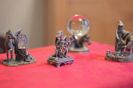 Four Pewter Collectibles
