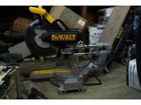 Dewalt Double Bevel Sliding Mitre Chop Saw