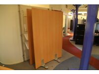 2 x Office Dividers