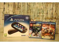 Slim PS Vita Boxed + 2 games