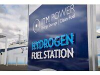Gorsaf llenwi Hydrogen yn De Cymru / Hydrogen filling station in South Wales in Aberdare