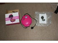 Argos Pretty Pink Mini Donut Maker Never Used
