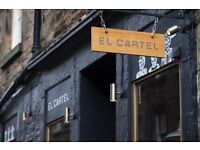 El Cartel on the lookout for a chef to join their team