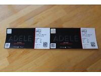 Adele Final at Wembley 29th June Font block seated tickets.