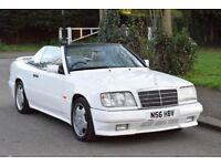 FOR SALE Mercedes Benz W124 convertible AMG body E220 E320 E500