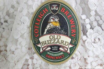 OLD BUZZARD COTLEIGH BREWERY VECCHIA CLIP X  POMPA DI BIRRA   VINTAGE PUMP CLIP
