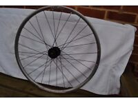 REAR TUBELESS READY REAR DISC WHEEL - BONTRAGER - 28 SPOKES