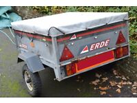 Erde 101 Trailer with electrical hook-up